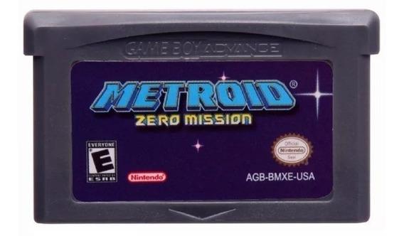 Metroid Zero Mission Americano Game Boy Advance Gba Novo