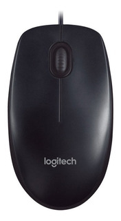 Mouse Óptico Usb Logitech M90 1000dpi Pc Notebook