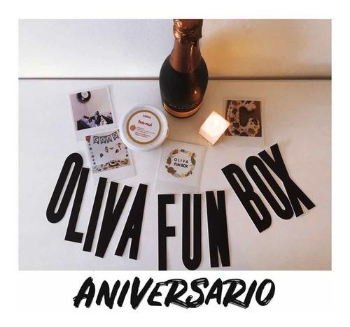 Caja Regalo Aniversario/cumpleaños/brindis Con Franui