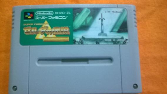 Jogo Super Nes The Legend Of Zelda A Link Past Frete Grátis