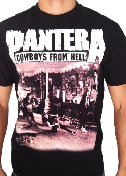 Camiseta Consulado Do Rock E444 Pantera Camisa Banda