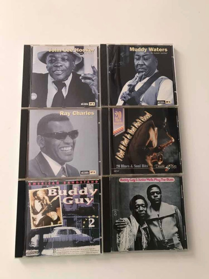 Lote Cds De Blues Buddy Guy Junior Wells Play The Blues