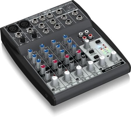 Mixer De Áudio Behringer 802 110v