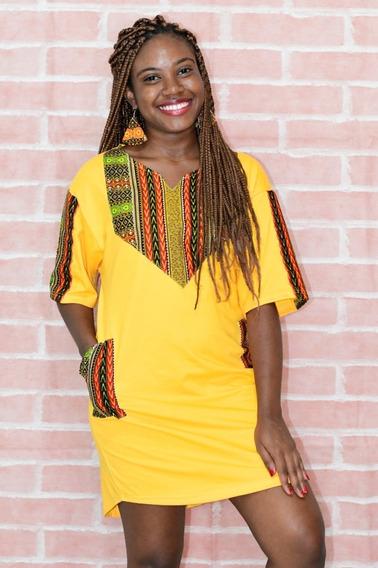 Roupas Afro - Vestido