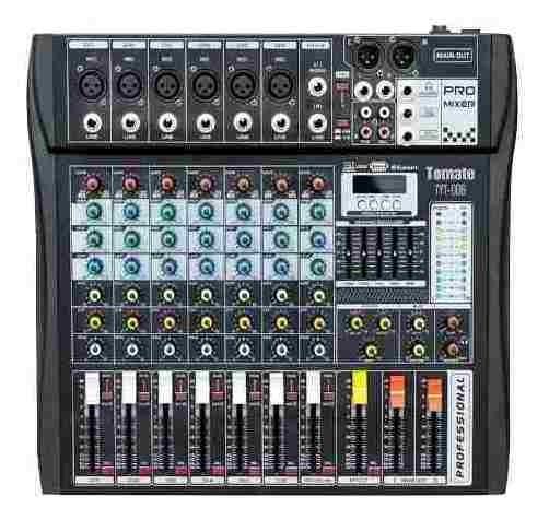 Mesa Profissional Controladora Mixer 8 Canais Festa Funk Dj