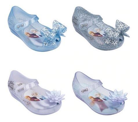 Zapatos Niña Bebé Flats Mini Melissa 2020 Frozen