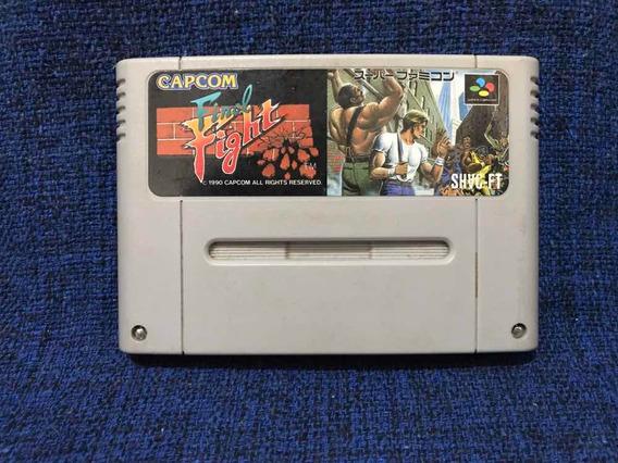 Final Fight Shvc-ft Famicom Snes Original