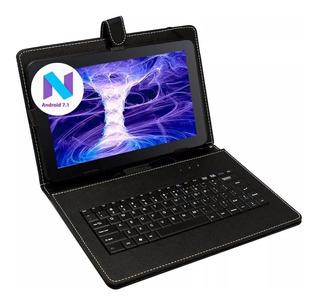 Tablet Pc 7 Android Wifi Kids Netbook Niños + Teclado