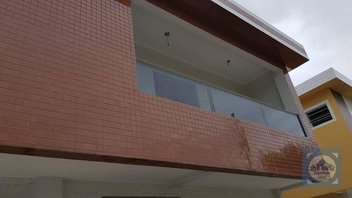 Imagem 1 de 13 de Casa Com 2 Dormitórios À Venda, 57 M² Por R$ 220.000,00 - Vila Mateo Bei - São Vicente/sp - Ca0945