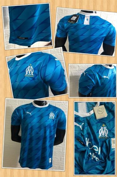 Camisa Olympique Marseille 19/20 Tam G Patrocínio Uber Eats
