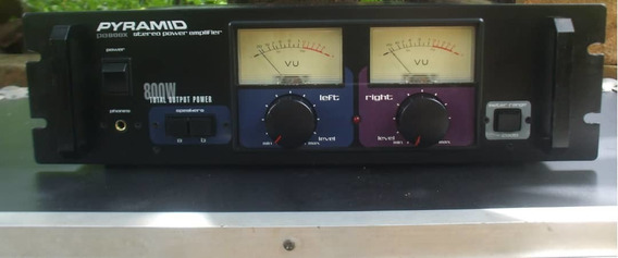 Amplificador Pyramid De 800 Watts