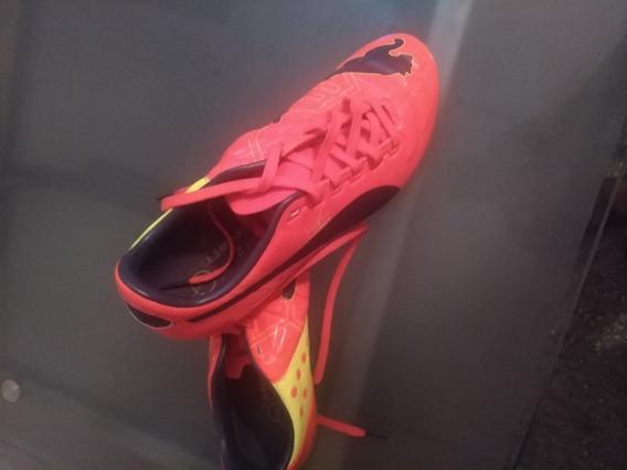 Zapatos Tacos Football, Marca: Puma, Modelo: Evo Power 2.