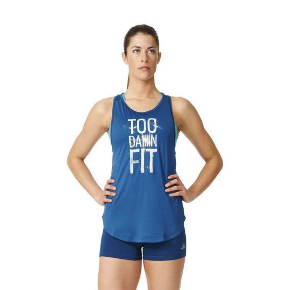 Musculosa Training adidas Performance Too Fit Mujer