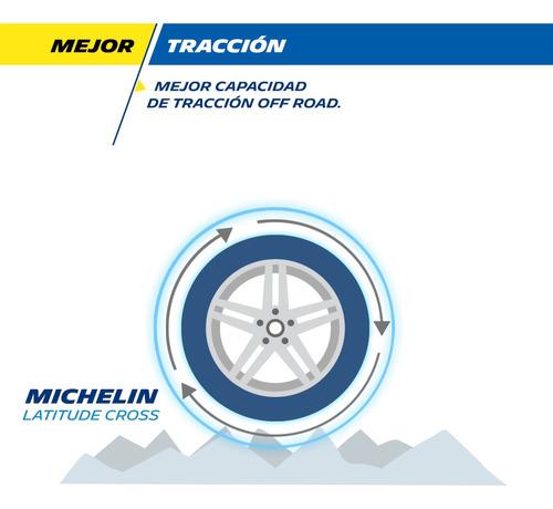Kit X4 Neumáticos Michelin Latitude Cross - Cubiertas 205/80