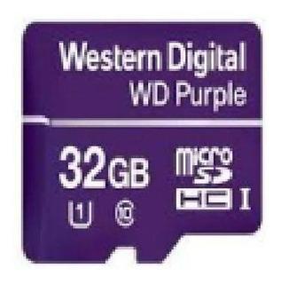 Cartao De Memoria Microsd 32gb Wd Purple