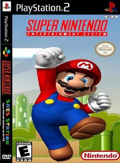 3000 Jogos De Super Nintendo No Seu Playstation 2 Wsx