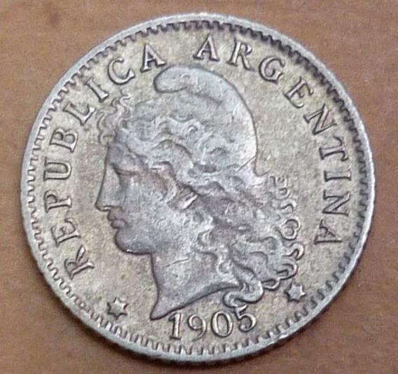 Argentina 5 Centavos 1905 Cuproniquel ¡¡¡muy Bueno + !!!