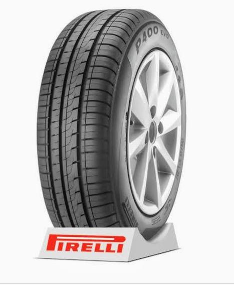 2 Pneus 175/70 R13 Pirelli P400 Evo Kit Mv.
