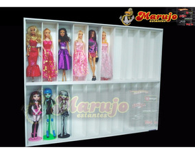 Estante Boneca Barbie Monster High 20 Nichos 10% Off