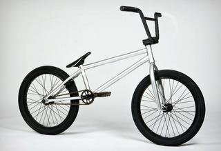 Bicicleta Bmx Fit Bike Co United Fly Bikes Demolition Cromo