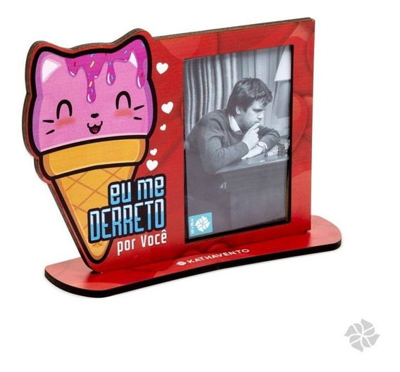 Porta Retrato - Todo Amor E Uma Delicia (kathavento)