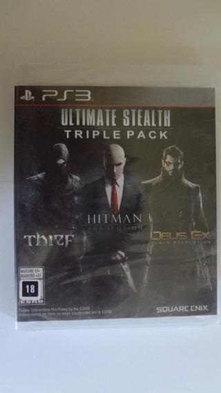Ultimate Stealth Triple Pack Ps3 - Novo E Lacrado