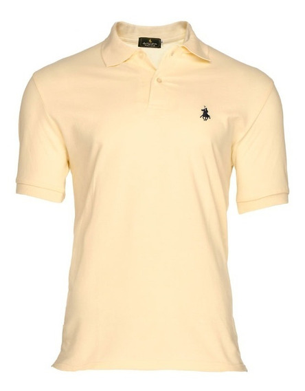 Playera Polo Club - Hueso