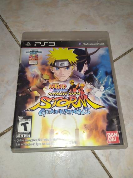 Naruto Storm Generations Ps3 350 Pesos