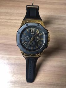 Relógio Tommy Hilfiger Dourado_estiloso