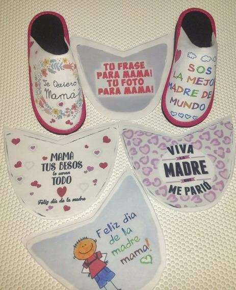 Pantuflas Personalizadas Para El Dia De La Madre $299