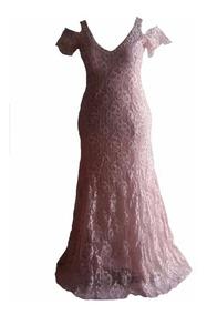 # Vestido Longo - Plus Size - Moda Evangélica #