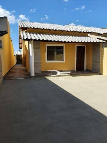 Casa Com 2 Dormitórios À Venda, 96 M² Por R$ 399.000,00 - Barroco (itaipuaçu) - Maricá/rj - Ca0807