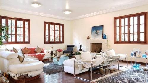 Linda Casa Com 4 Dormitórios À Venda, 537 M² - Cidade Jardim - São Paulo/sp - Ca0050