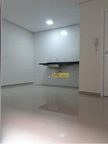 Imagem 1 de 13 de Apartamento  Sem Condominio Com 2 Dormitórios À Venda Por R$ 280.000 - Vila Pinheirinho - Santo André/sp - Ap2198