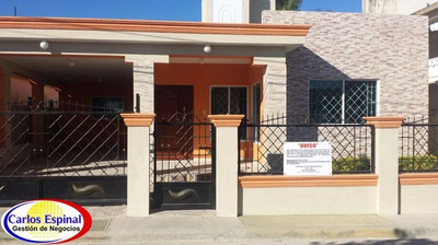 Casa Nueva De Alquiler En Higuey, Rep. Dominicana Ca-010