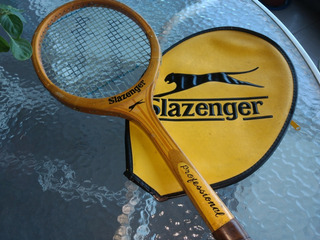 Raqueta Clasica De Coleccion Slazenger