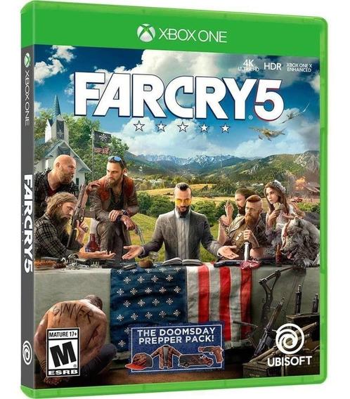 Jogo Xbox One Far Cry 5 - Novo - Lacrado - Rj