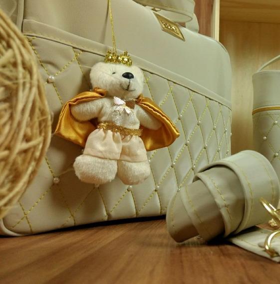 Urso Para Bolsa De Bebe Chaveiro Bolsa Saída De Maternidade