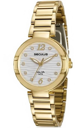 Relógio Feminino Seculus 23570lpsvda1 Barato Original