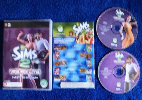 Jogo Pc Original - Sims 2 Vida Noturna - Expansão