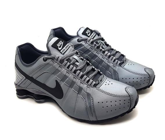Tênis Masculino Nike Shox Junior 4 Molas Queimão De Estoqu