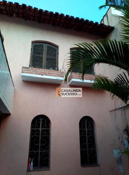 Sobrado À Venda, 179 M² Por R$ 470.000,00 - Vila Ré - São Paulo/sp - So0865