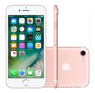 iPhone 7 Rose Gold 32gb + 3 Brindes
