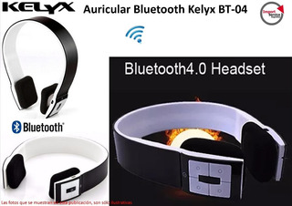 Auricular Bluetooth Kelyx Bt-04