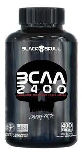 Bcaa 2400 Caveira Preta (400 Tabs) - Black Skull