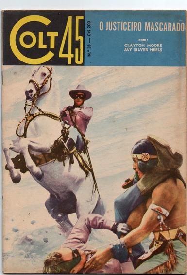 Colt 45 (o Justiceiro Mascarado) Nº 33 - Ótimo-frete Grátis