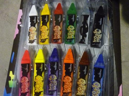 Pintura Maquillaje Pintacarita En Barra Tipo Crayon 12 Color