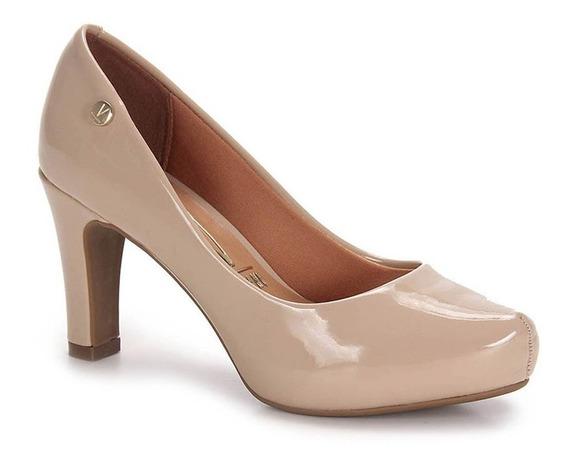 Sapato Vizzano Scarpin Salto Grosso