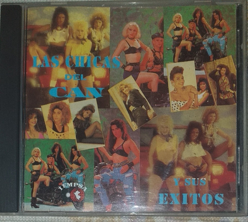 Las Chicas Del Can Exitos Nada Comun Cd Salsa Merengue