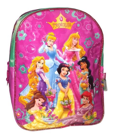 Mochila Espalda Jardin 12p Disney Princesas Wabro Mundomania